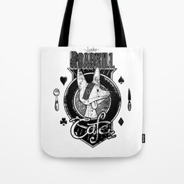 Lucky Roadkill Cafe Tote Bag