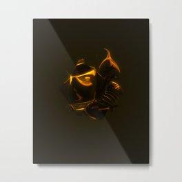 King Dark CatFish - The Heart Metal Print