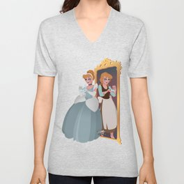Cinderella - Princess Ball Dress  Unisex V-Neck