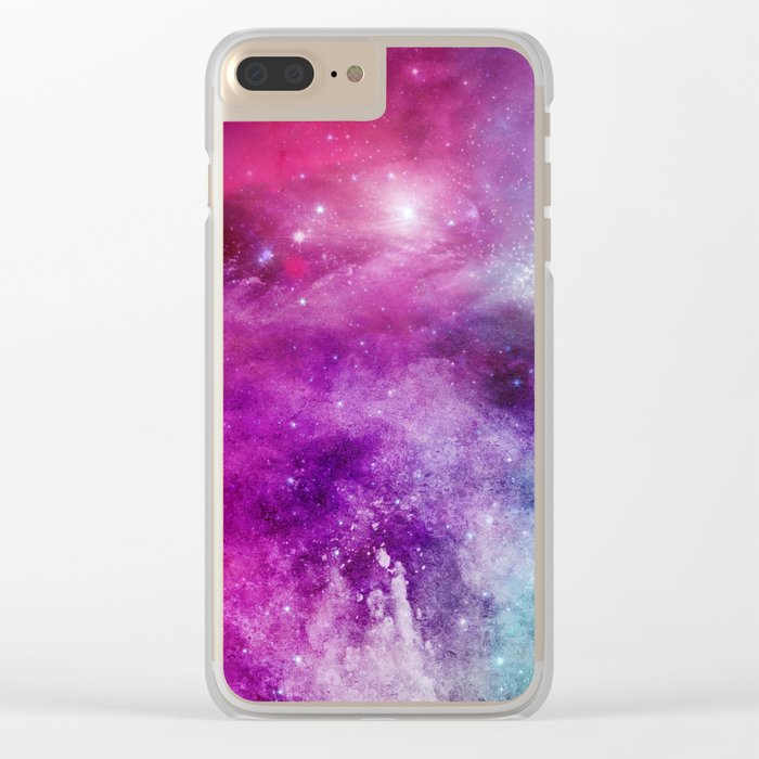 Universe 01 Clear iPhone Case