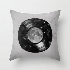 Galaxy Tunes Throw Pillow