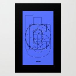 Die Neue Haas Grotesk (C-03) Art Print