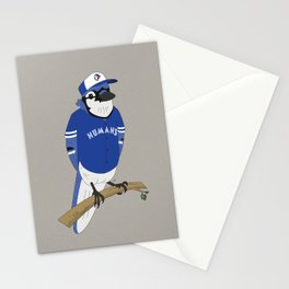 Go Humans Go! Stationery Cards