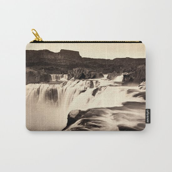 Vintage Waterfall Carry-All Pouch