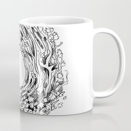 Forest Light Circle Nature Flow Coffee Mug