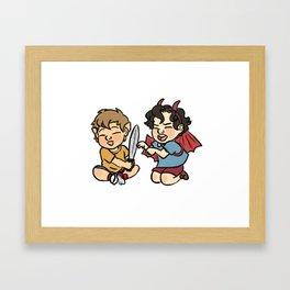 Smauglock Framed Art Print