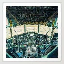 Flight Deck Art Print
