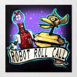 roll call Canvas Print