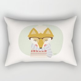 Cold Fox Rectangular Pillow