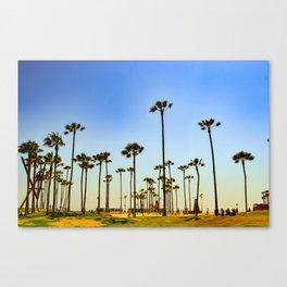 Venice beach CA. Canvas Print