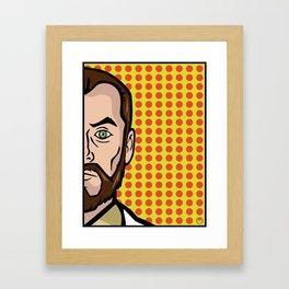 Dr. Krieger of ISIS Framed Art Print