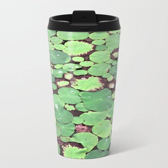 Nymphaeaceae Metal Travel Mug