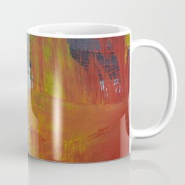 Abstract Paint Swipes Coffee Mug