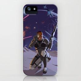 Mass Effect 3- Infiltrator Propaganda iPhone Case