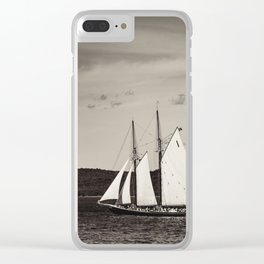 Sailing The Basin Clear iPhone Case