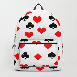 poker card figures Backpack