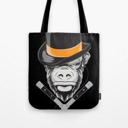 Savage Society: Monocle Monkey Tote Bag