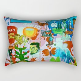 Los detectives helados Rectangular Pillow