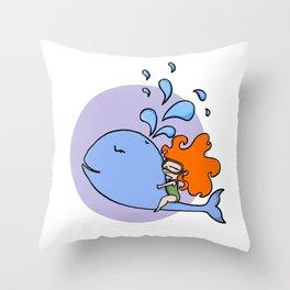 Ballena Throw Pillow