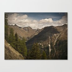 in the mountains II Canvas Print