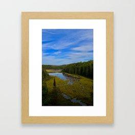 Beaver Dam Lookout Framed Art Print