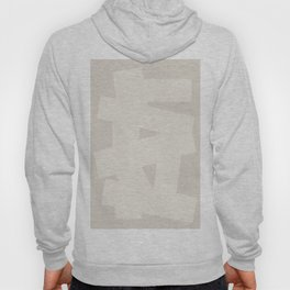 Abstract Lines in Shades of Pale Brown Hoody