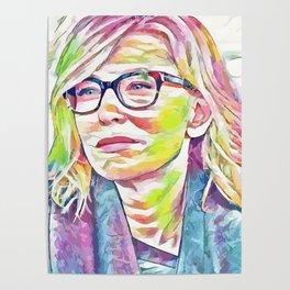 Cate Blanchett (Creative Illustration Art) Poster