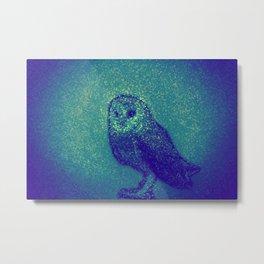 Owl ... Metal Print