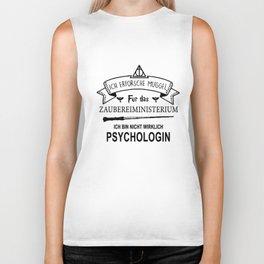 ich erforsche muggel fur das zaubereiministrerium ich bun nicht wirklich psychologin dutch t-shirts Biker Tank