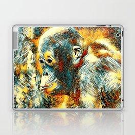AnimalArt_OrangUtan_20180204_by_JAMColors Laptop & iPad Skin