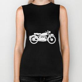 Motor Cycle Outline Biker Tank