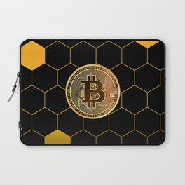 Bitcoin Bee Laptop Sleeve
