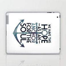 WE HAVE THIS HOPE. Laptop & iPad Skin