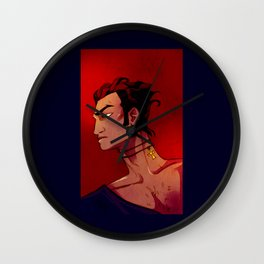 Mike in Red Wall Clock