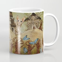 There live blue butterflies Coffee Mug