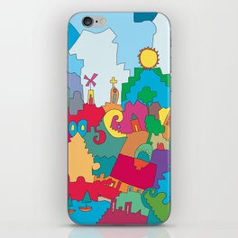 City iPhone Skin