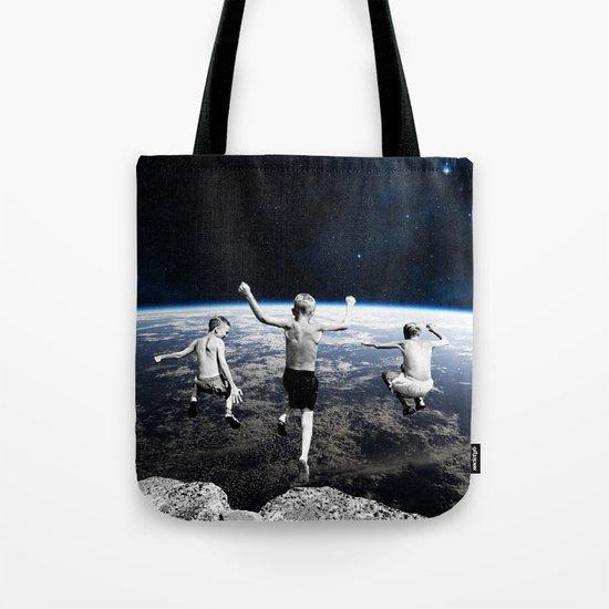 Free Faling Tote Bag