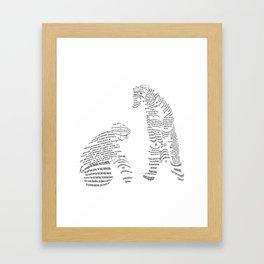 Polar Bears from Poetry Framed Art Print