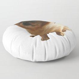 Nerdy dog Pepe Floor Pillow