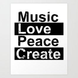 MLPC Grunge Art Print