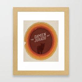 Damien Jurado Framed Art Print