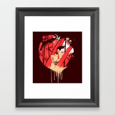 THE BEGINNING Framed Art Print