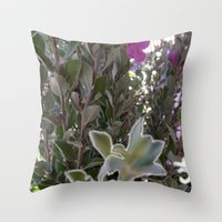 plant Throw Pillows featuring Plant by ANoelleJay