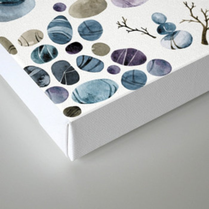 Wishing stones and cairns Canvas Print