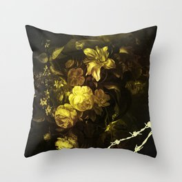 Barbed Beauty Throw Pillow