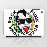 punk iPad Cases featuring punk by mark ashkenazi