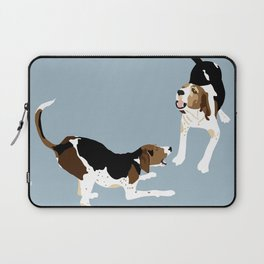 Coonhound Play Laptop Sleeve