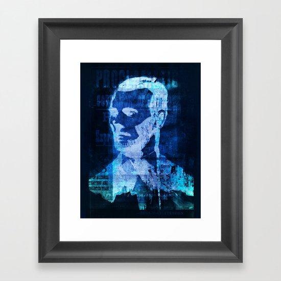 Model Citizen Framed Art Print