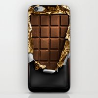 chocolate iPhone & iPod Skins featuring chocolate by bbay