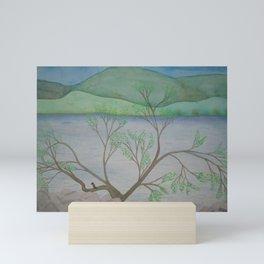 Banks of the Canal Mini Art Print